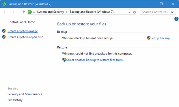 revive your windows 10 installation figure B