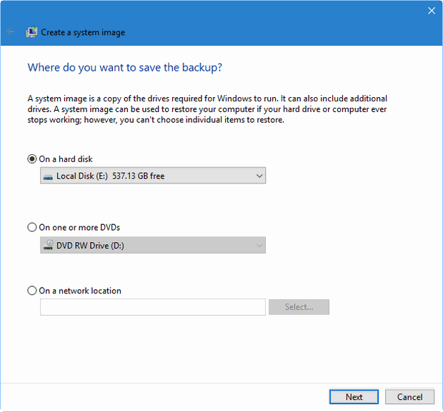 revive your windows 10 installation figure C