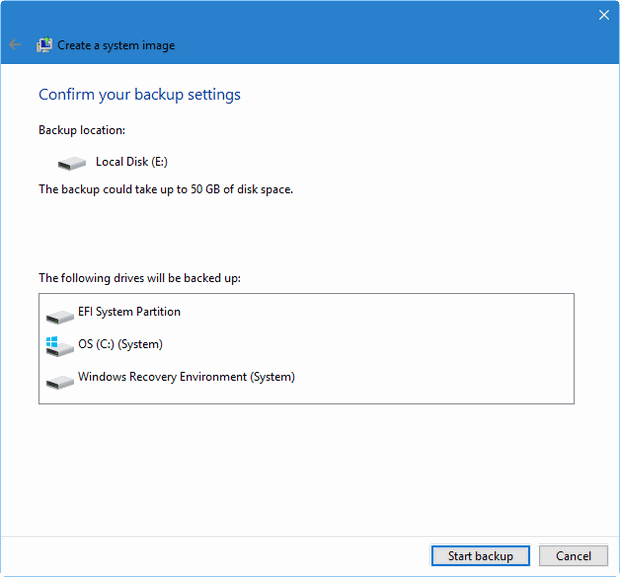 revive your windows 10 installation figure D